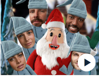 Jibjab Christmas.Christmas Team Giuntoli